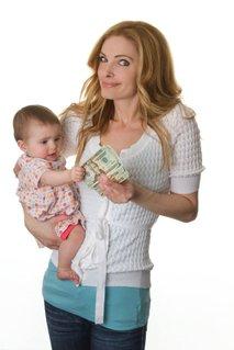 Mama in denar