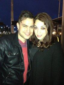 Omar Naber in Eva Beus
