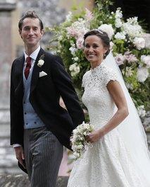 Pippa Middleton in James Matthews po poroki - 2