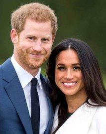 Princ Harry in Meghan Markle-portreta za naslovno