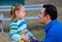 Očka in hči