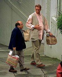 Arnold Schwartzeneger in Danny DeVito