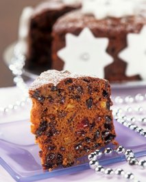 Božični sadni kolač