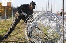 Bodeča žica na meji