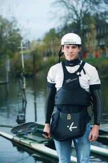 Tine Kancler, mladi up, kajak kanu na divjih vodah