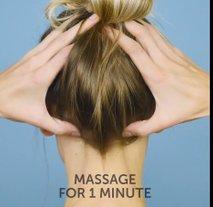 Masaža - migrena