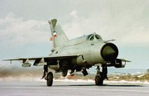 letalo Mig-21 jugoslovanske vojske