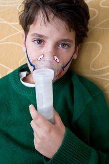 Deček z astmo