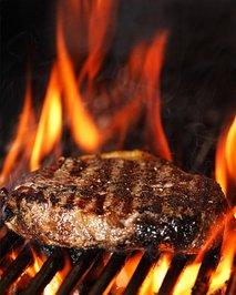 meso na žaru
