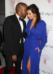Kim Kardashian in Kanye West - 1