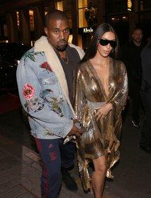 Kanye West in Kim Kardashian
