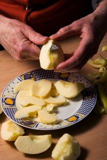 Rezanje jabolk