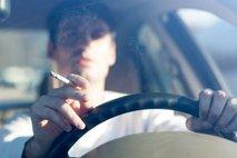 Kajenje v avtu