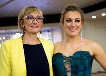 Ilka Štuhec in mama Darja Črnko