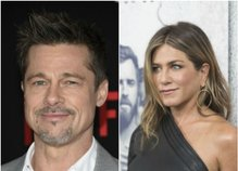 Jennifer Aniston in Brad Pitt