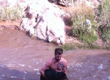 Rešil psa iz reke