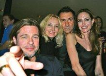 Tanja, Đuro, Brad Pitt in Angelina Jolie