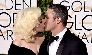 Lady Gaga in Taylor Kinney