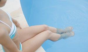 Plavanje na bazenu - 1