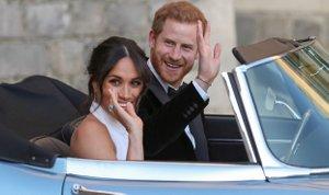 Poročni sprejem princa Harryja in Meghan