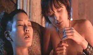 Angelina Jolie in Jenny Shimizu