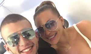 Ceca in njen sin Veljko