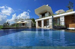 Vila, kontejner, Lombok