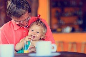 Oče z hčerko