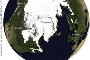 Led na Arktiki