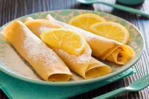 Palačinke z limono in sladkorjem
