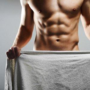 moški s six-pack mišicami
