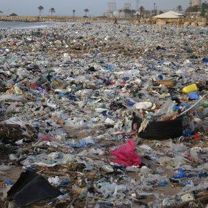 Smeti na obalah Libanona - 2