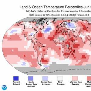 Temperature - junij 2017