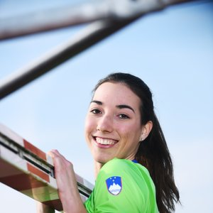 Eva Pepelnak, atletinja v troskoku