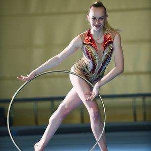 Aleksandra Podgoršek, ritmična gimnastičarka