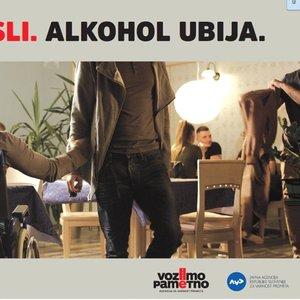 Premisli. Alkohol ubija.