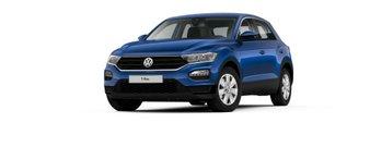 VW, T-Roc, temno moder