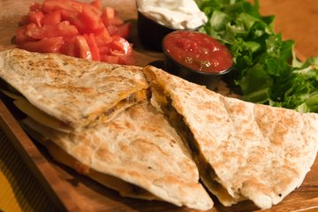 Quesadillas z govedino in sirom