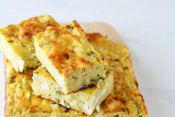 Bučkine rezine s sirom