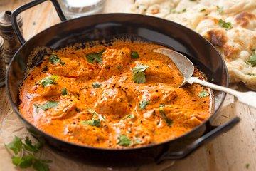 Masleni piščančji curry
