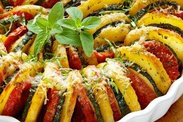 Pečena zelenjava po provansalsko