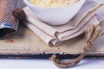 Pečen mlečni riž