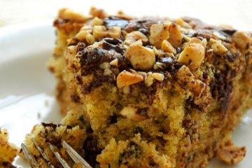 Lešnikova torta z nutello