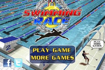 Swimming race 1