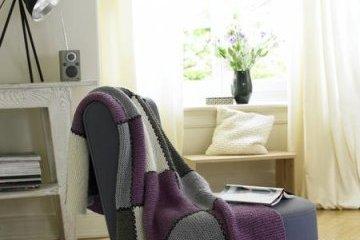 Stol z odejo - zimsko udobje