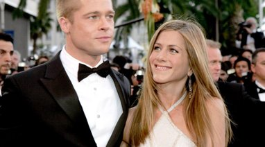 Brad Pitt in Jennifer Aniston
