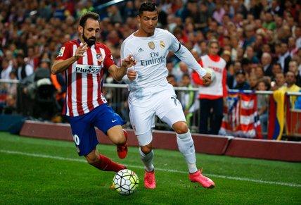Juanfran in Cristiano Ronaldo