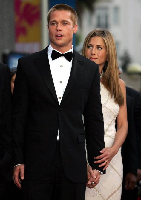 Jennifer Aniston in Brad Pitt