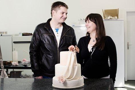 Sanjska poroka 2013, torta, baloni - 28