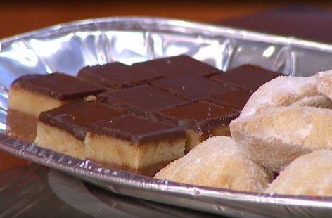 Čokoladno-mandljeve rezine